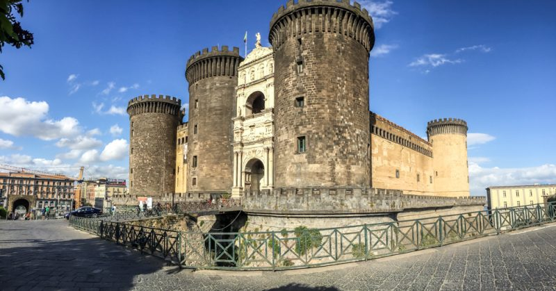 3 days in Naples itinerary - Castle Nuevo