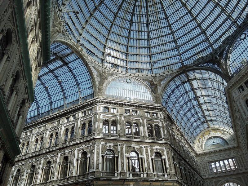 3 days Naples Itinerary - Galleria Umberto Uno
