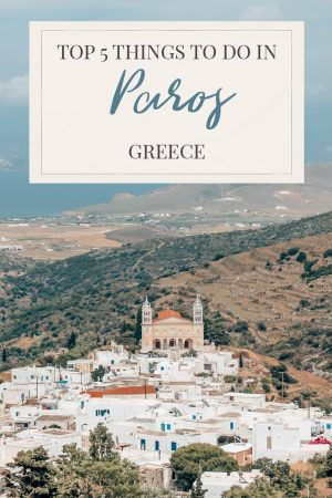 Top things to do in Paros