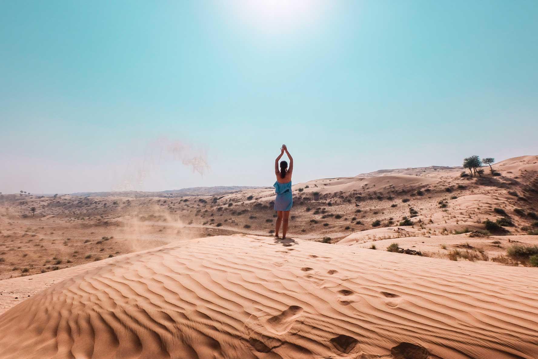 Ras Al Khaimah desert view