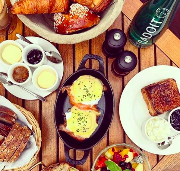 Best breakfasts in Dubai - La Serre