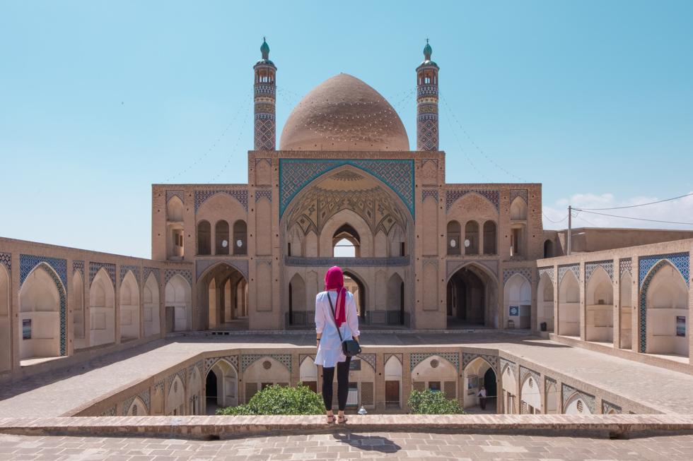 Kashan Agha Bozorg Mosque Emma BonjourSunset