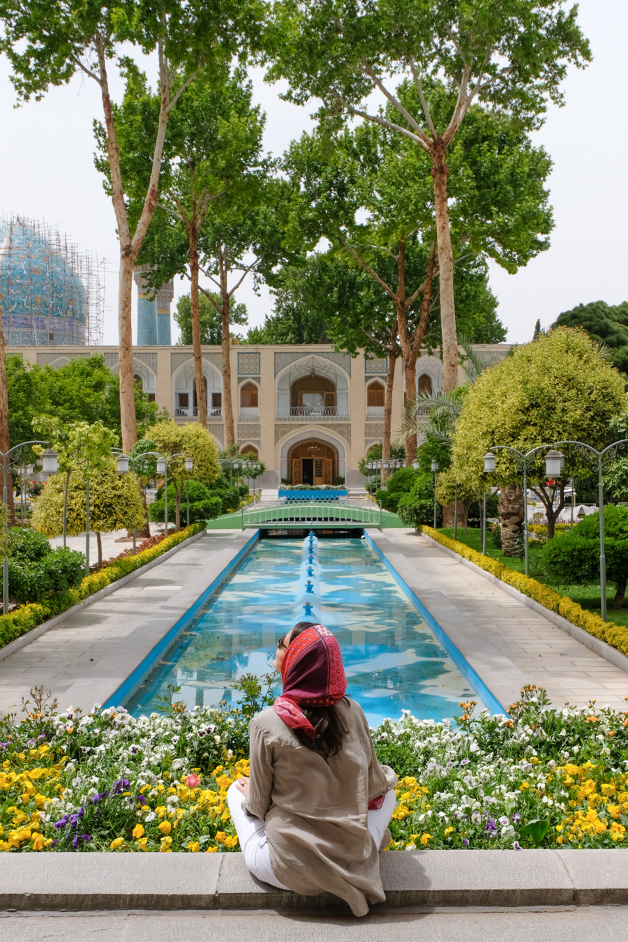 2 days in Esfahan Abassi hotel Iranian garden