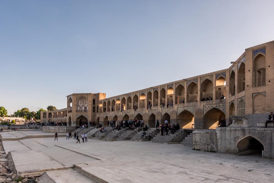 2 days in Esfahan - Zayandeh river bridges