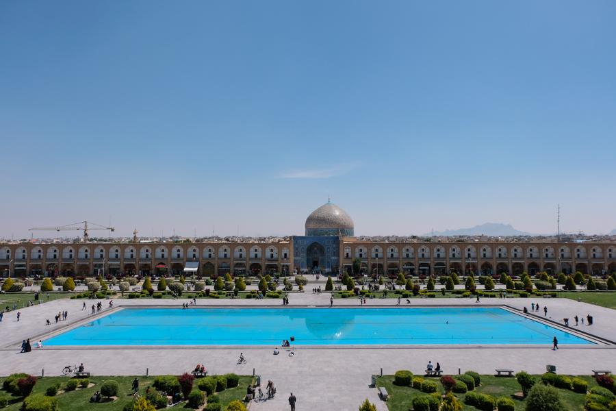 2 days in Esfahan - Masjed-e Cheikh Lotfollah