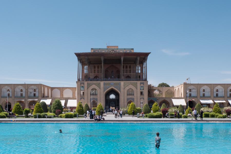2 days in Esfahan - Kakh-e Ali Qapu