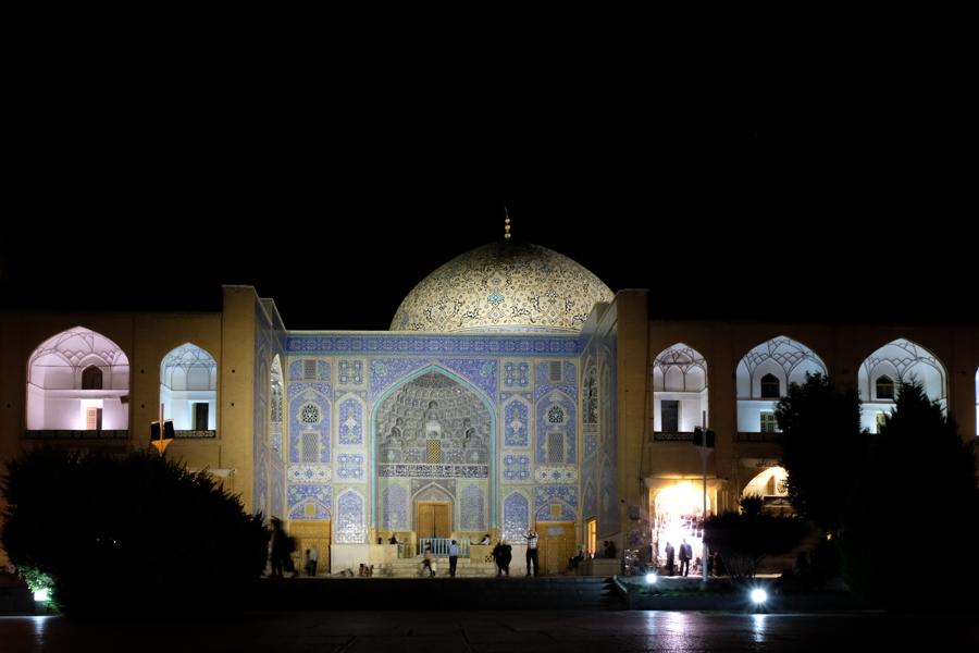 2 days in Esfahan NASQH-E JAHAN AT NIGHT
