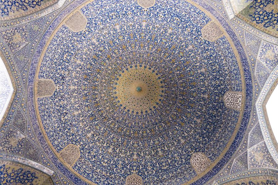 Masjed-e Shah Iranian Mosque Mosaic