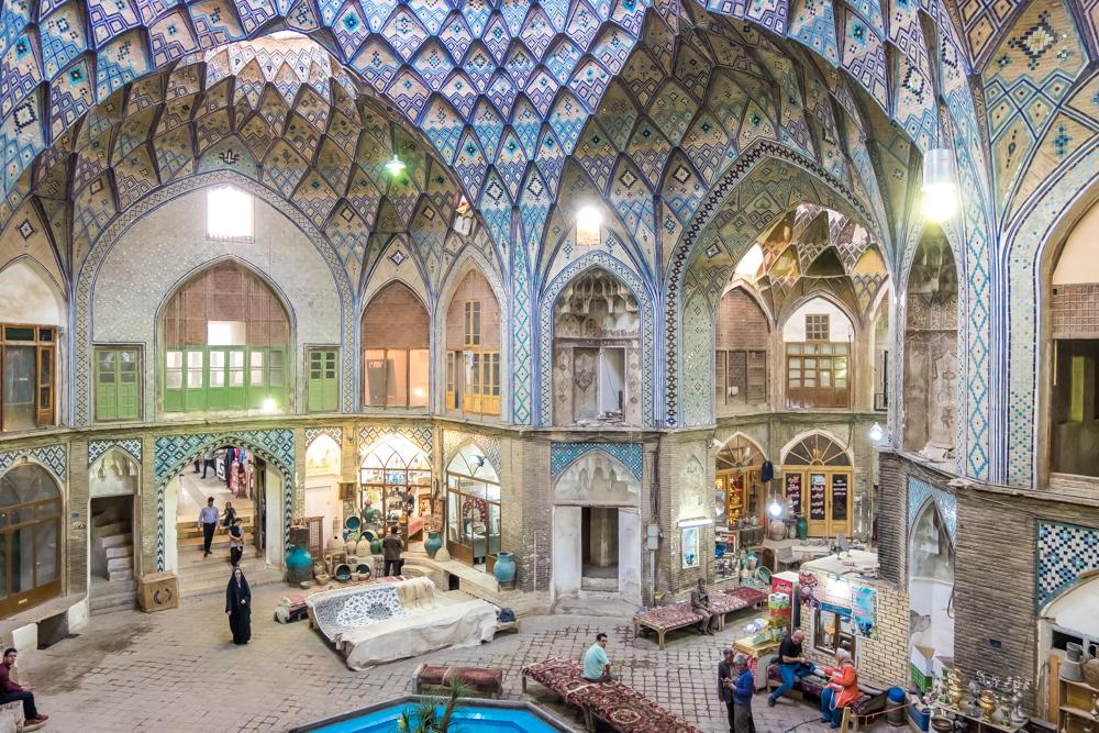 Kashan Bazaar Arcade