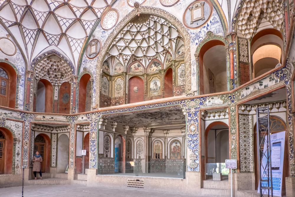 Kashan Historical House Khan-e Boroujerdi