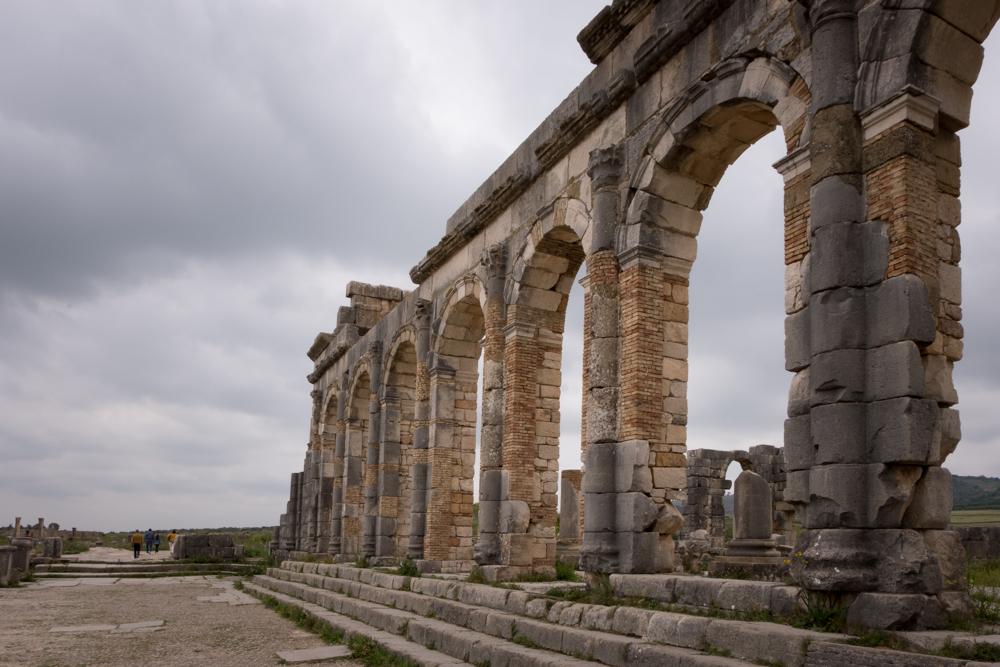 Morocco Road Trip Volubilis Ruins