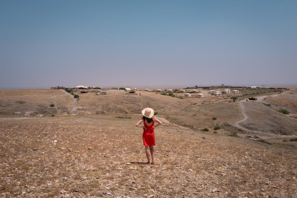 Morocco Road Trip itinerary Terre des Etoiles desert view