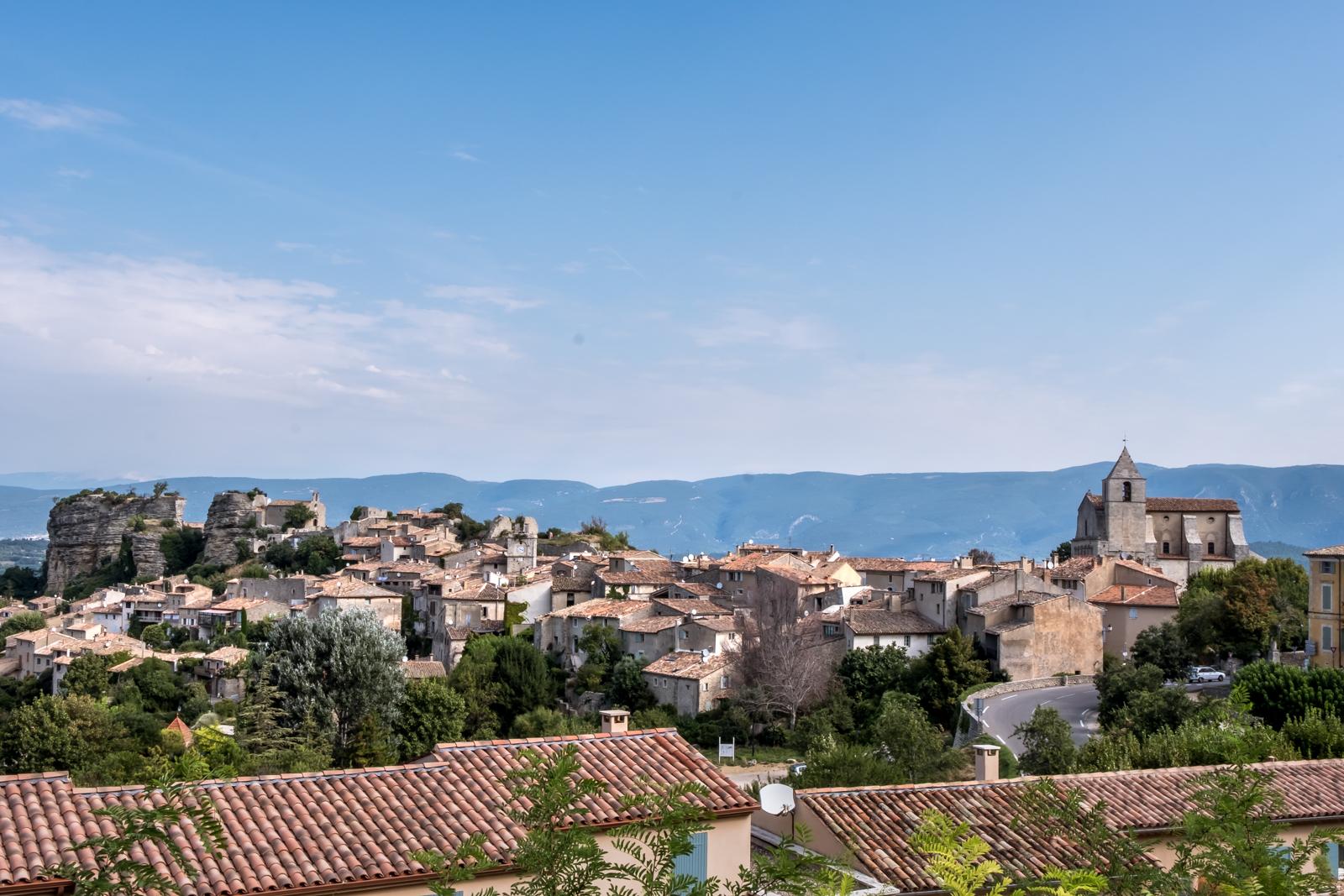 Saignon Luberon valley Provence region