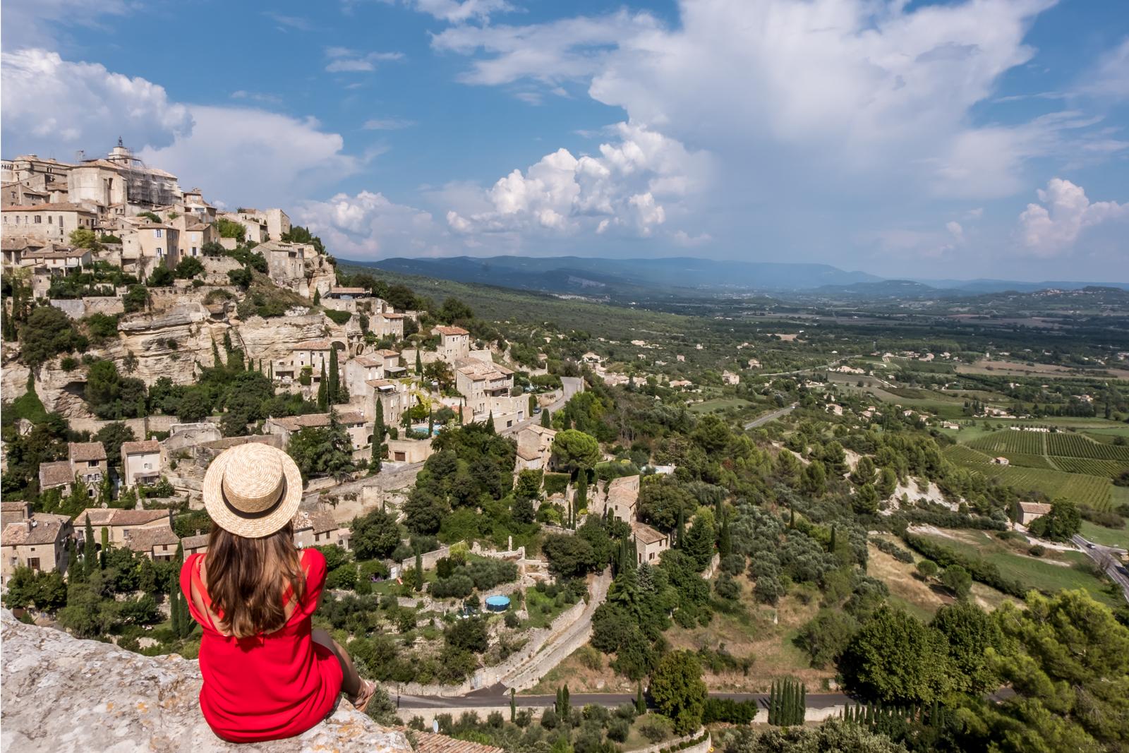 Gordes Luberon village Luberon valley Provence Region