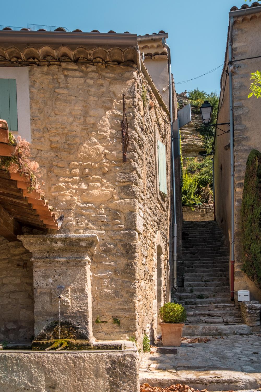 Provence Luberon village Saignon
