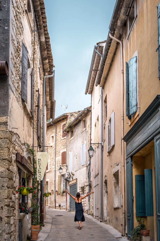 Provence Luberon village Menerbes