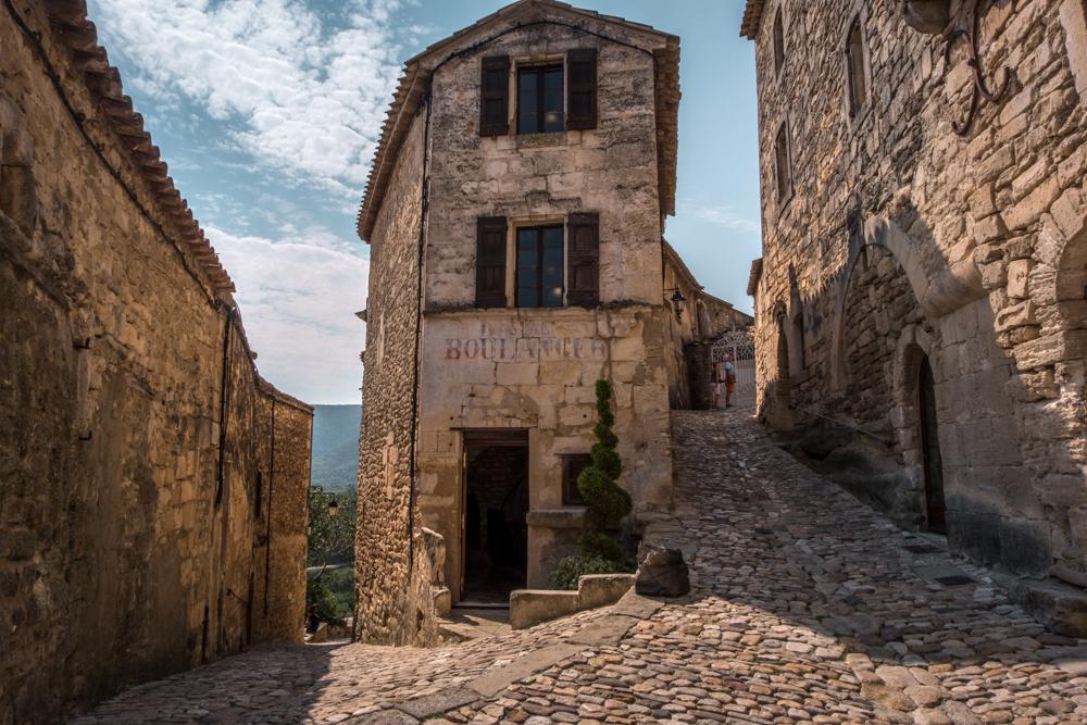 Provence Luberon village Lacoste