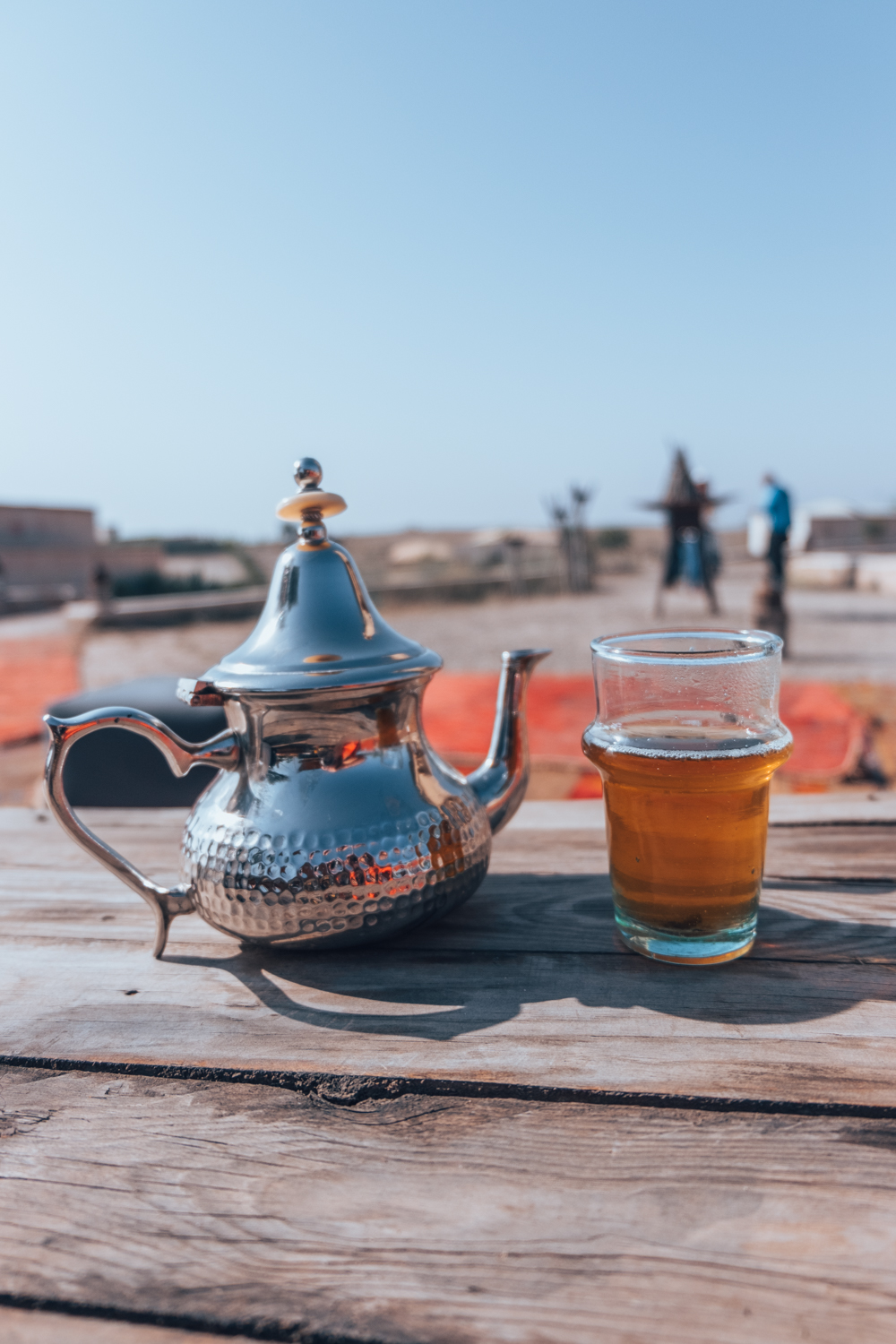 Marrakech Moroccan tea