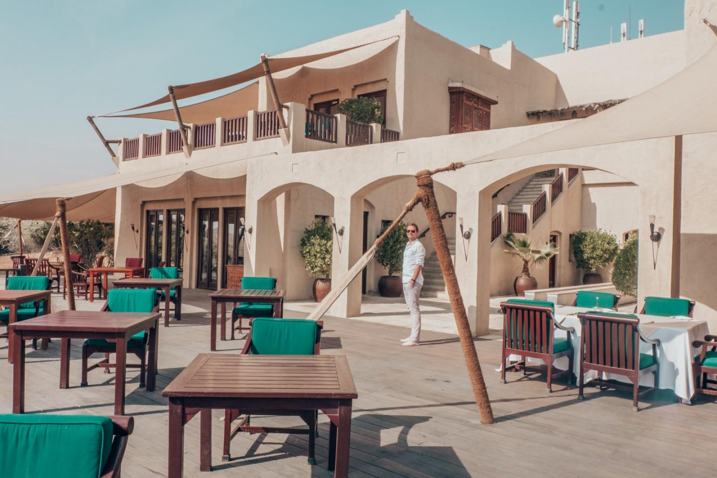 Al Maha Desert Resort Restaurant