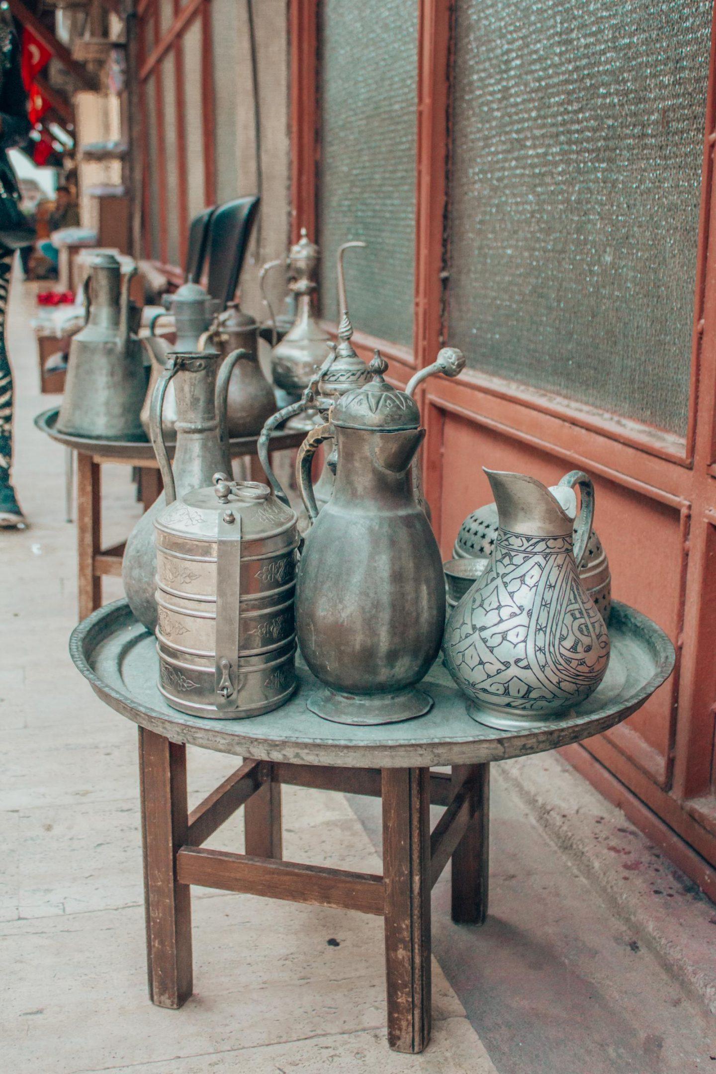Istanbul Itinerary - Grand Bazaar