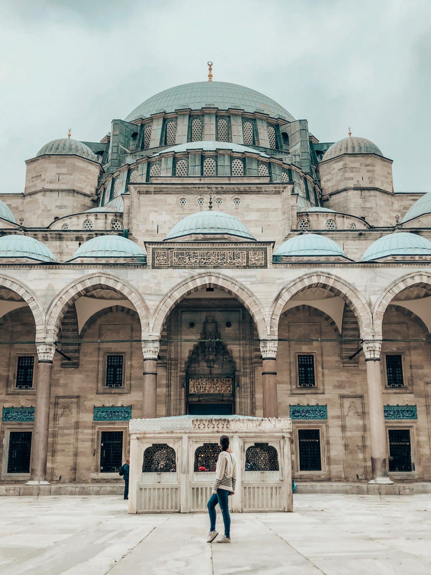 Istanbul Suleymaniye Mosque Emma BonjourSunset