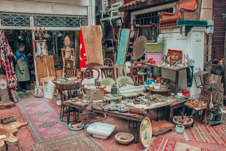 Istanbul itinerary - 3 days in Istanbul Cukurcuma vintage store