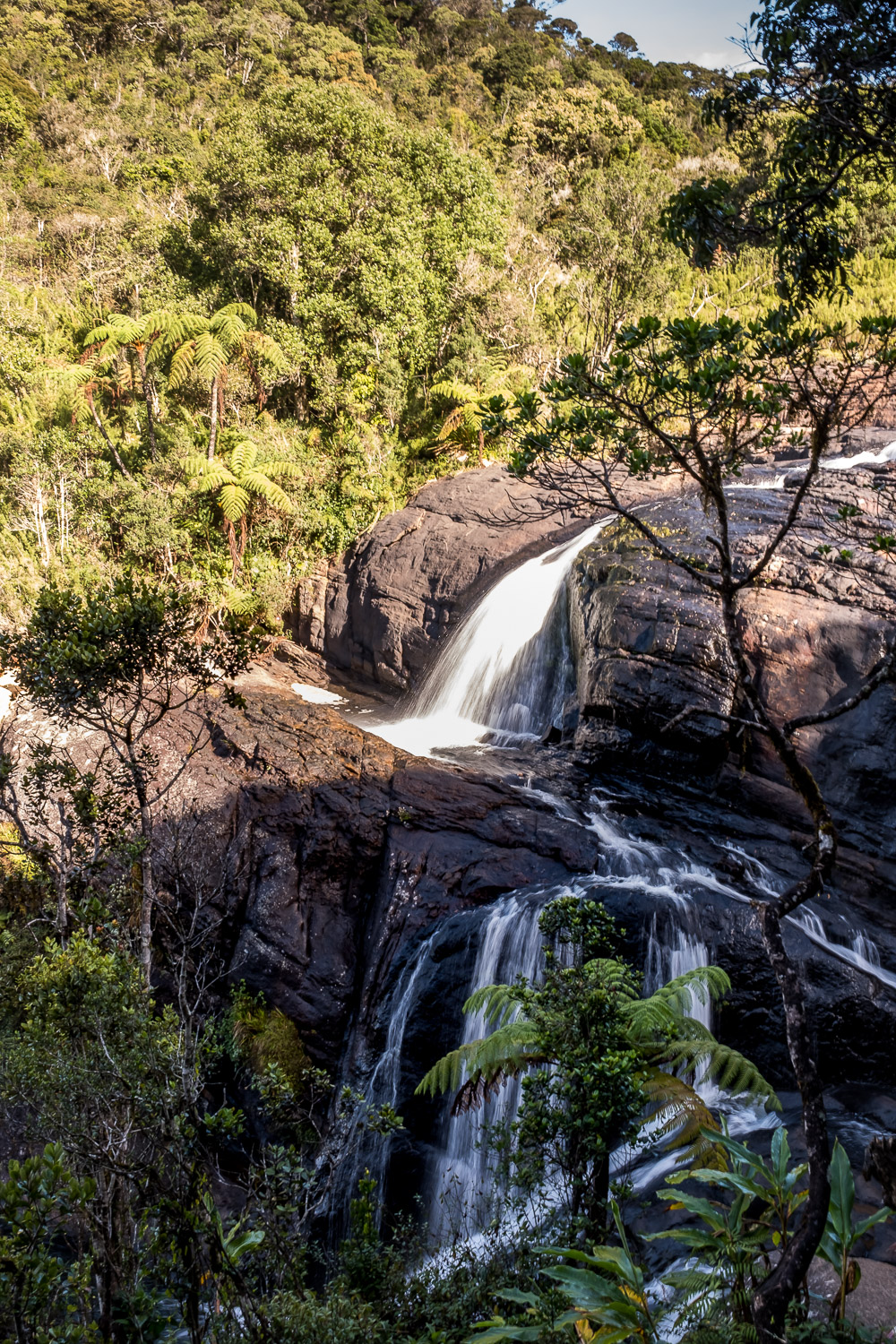 Horton Plains Hike Sri Lanka Waterfall