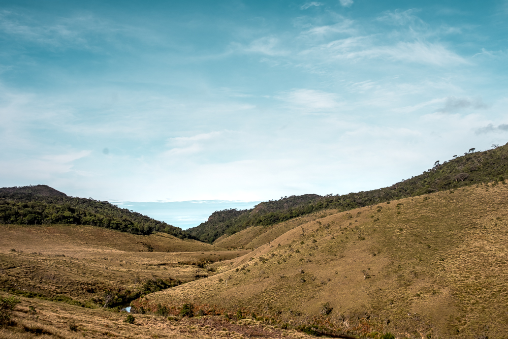 Horton Plains Hike Sri Lanka Landscape view