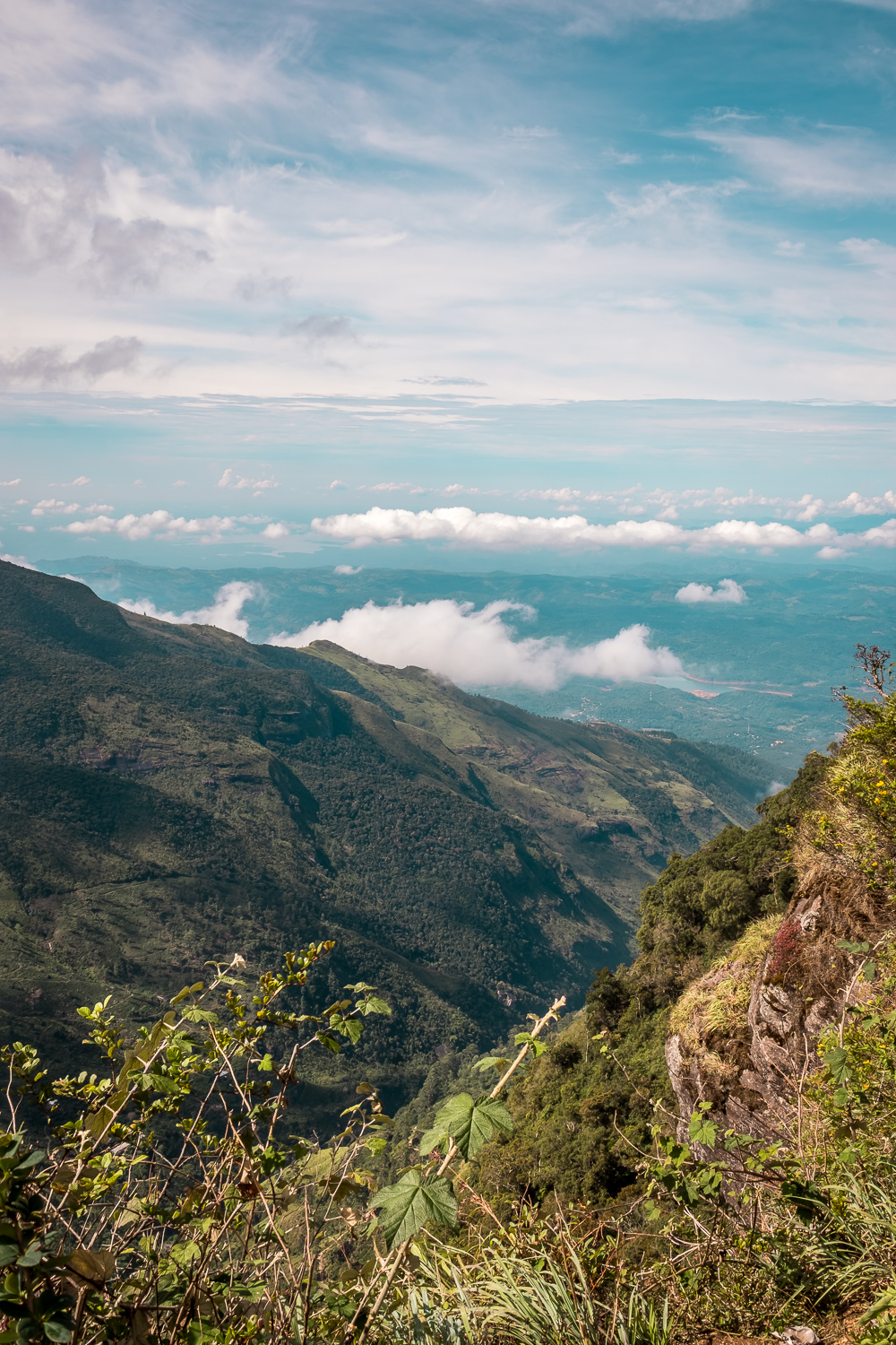 Horton Plains Hike Sri Lanka World's End