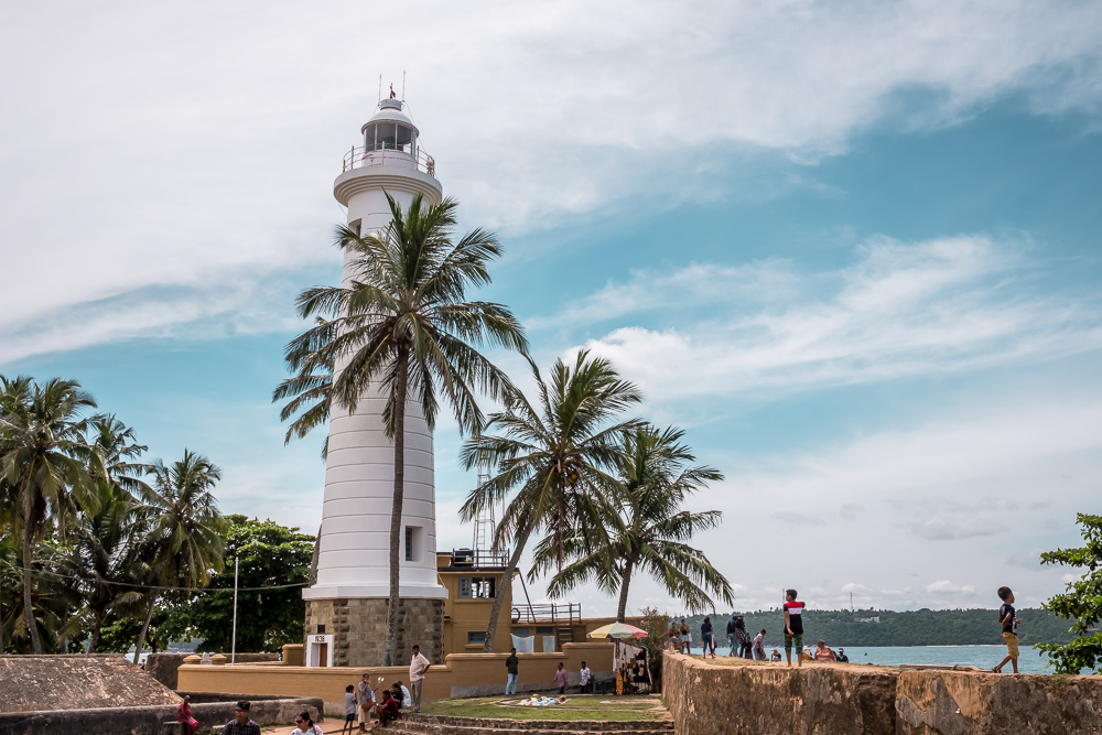 Galle Fort Lighthouse Sri Lanka itinerary