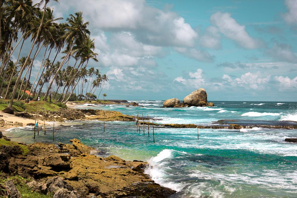 Sri Lanka itinerary - Ocean Coastline