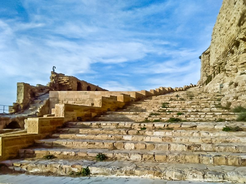 Best places in Jordan - Karak Castle
