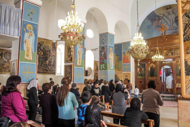 Jordan Itinerary - Madaba St George's Church