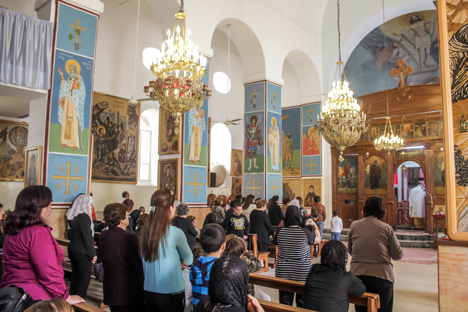 Jordan Itinerary - Madaba St George's Church