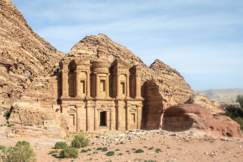 Places to visit in Jordan Petra Monastery