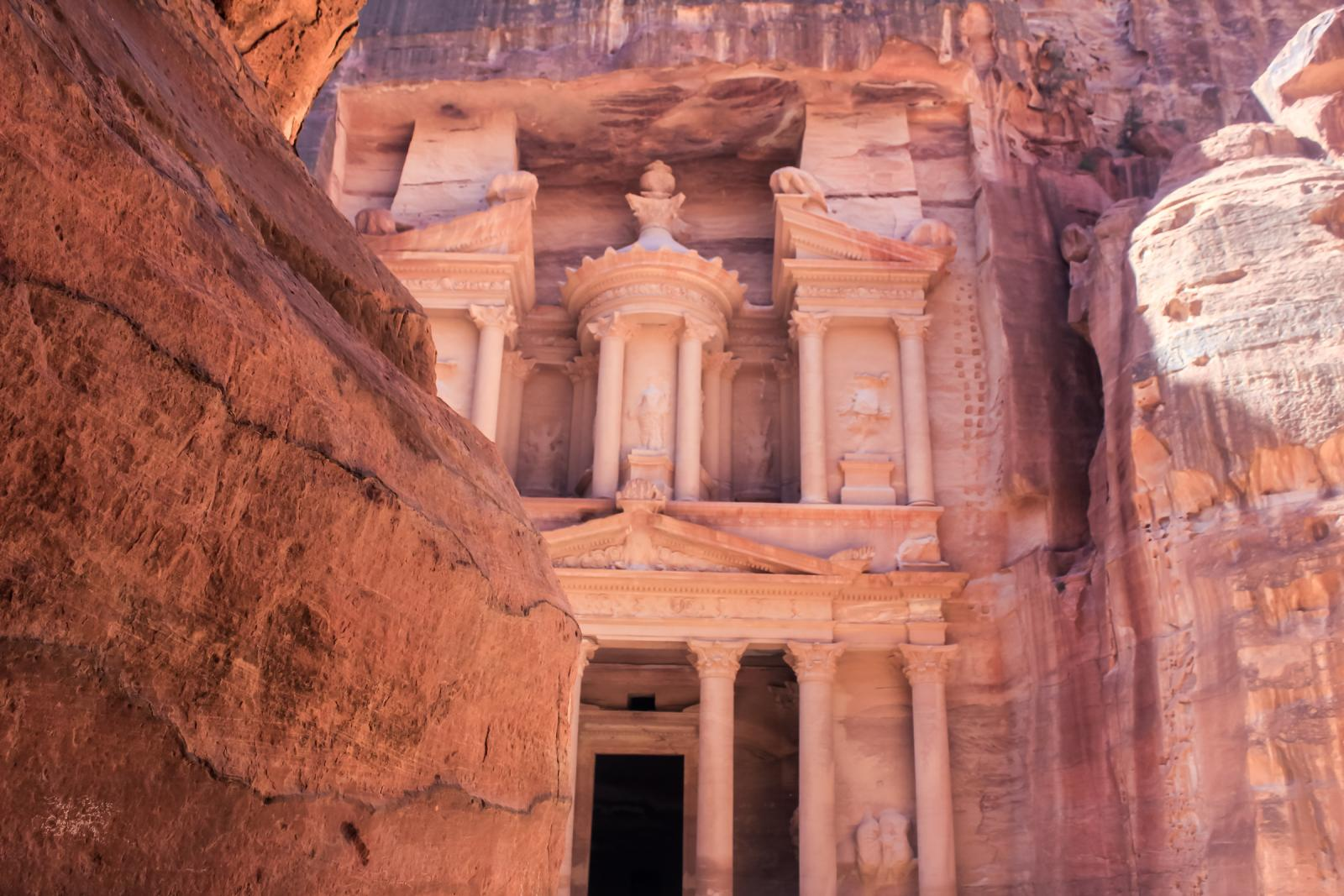 Places to visit in Jordan Petra Treasury