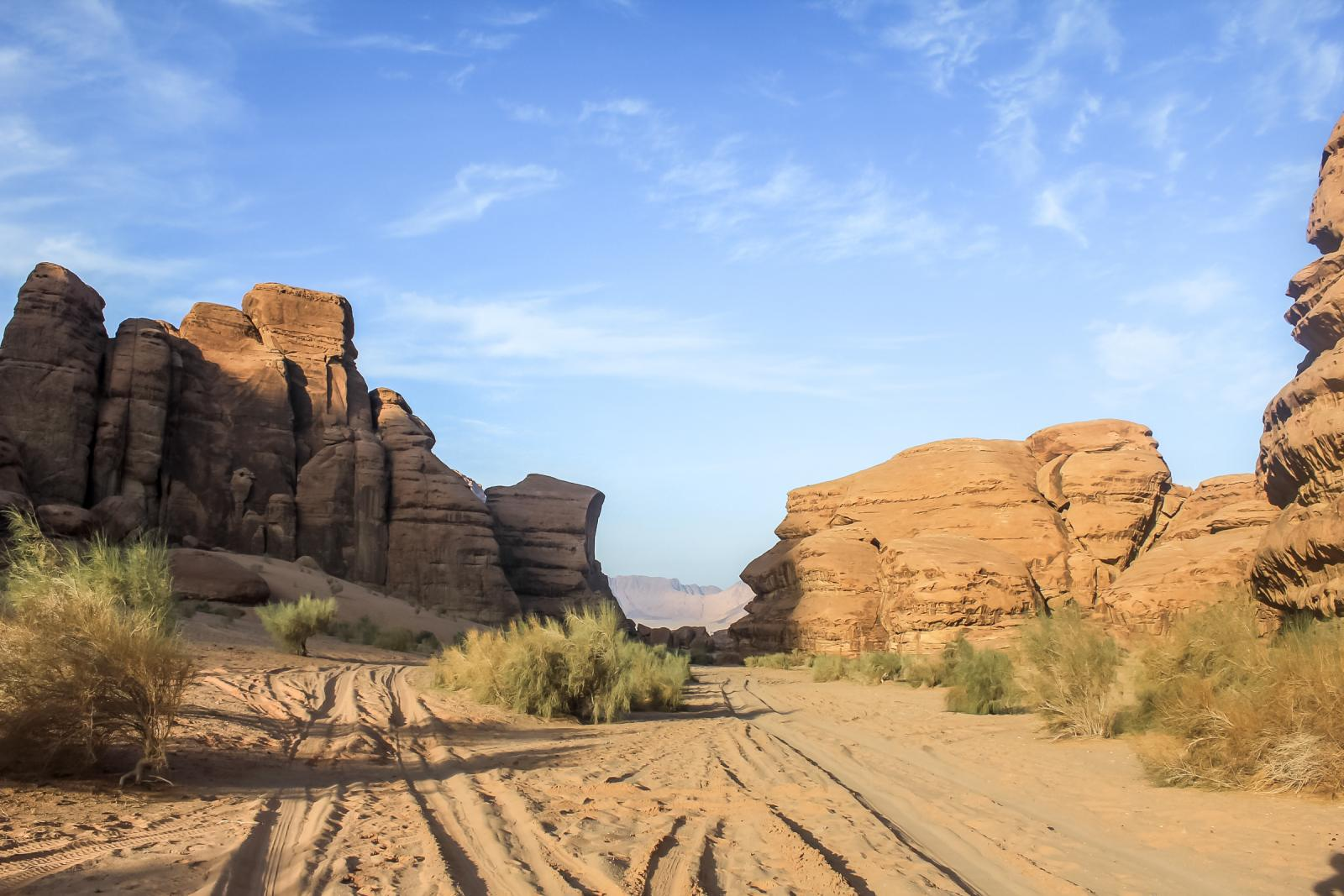 Places to visit in Jordan - Wadi Rum