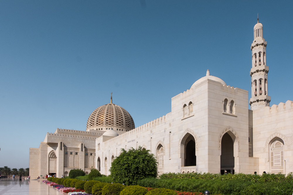 Oman itinerary - Sultan Qaboos Grand Mosque
