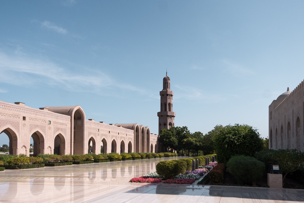 Oman itinerary - Sultan Qaboos Grand Mosque - Places to visit in Oman