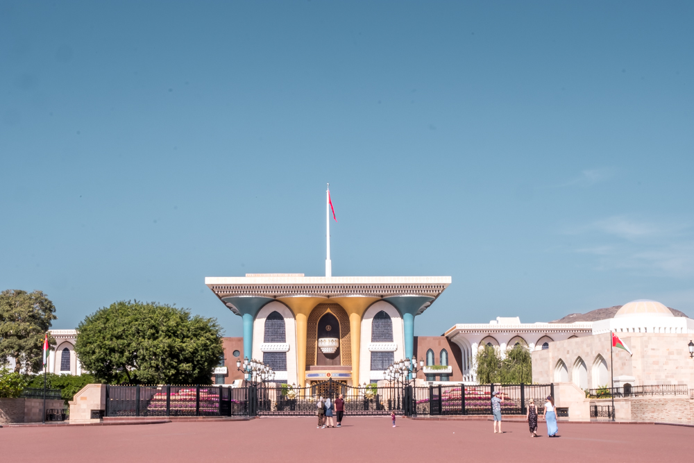 Oman Itinerary - Sultan Qaboos Palace - Places to visit in Oman