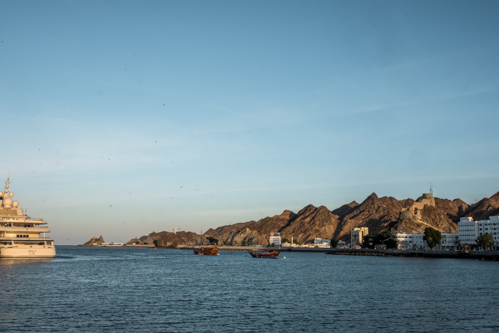 Oman itinerary - Mutrah corniche - Places to visit in Oman