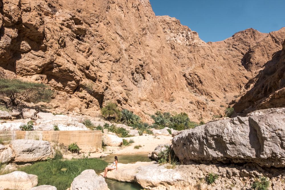 Oman Itinerary - Wadi Shab - Places to visit in Oman
