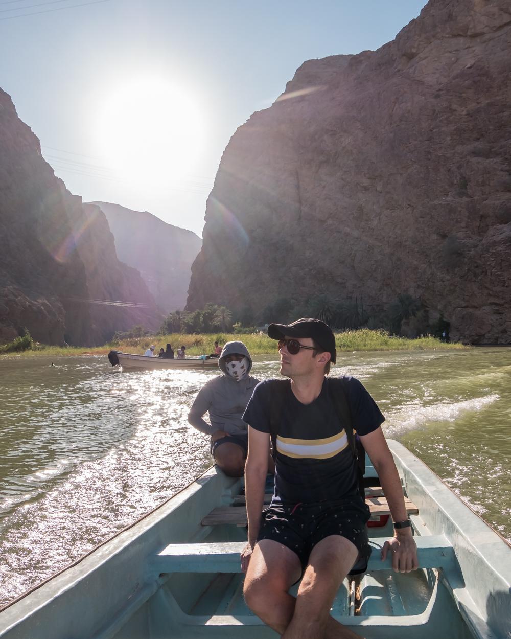 Oman Itinerary - Wadi Shab