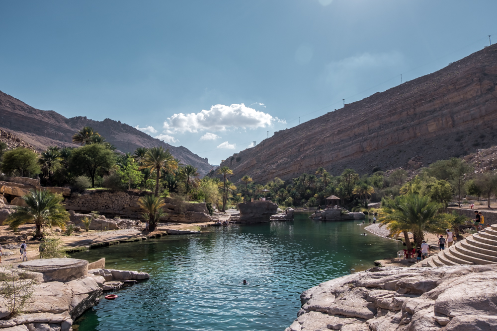 Oman Itinerary -Wadi Bani Khalid - Places to visit in Oman