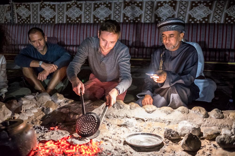 Oman Itinerary -Al Samardi Desert Camp - Wahiba Sands