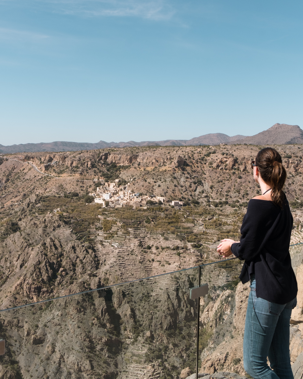 Oman Itinerary - Jabel Akhdar - Anantara - Diana's point - Places to visit in Oman
