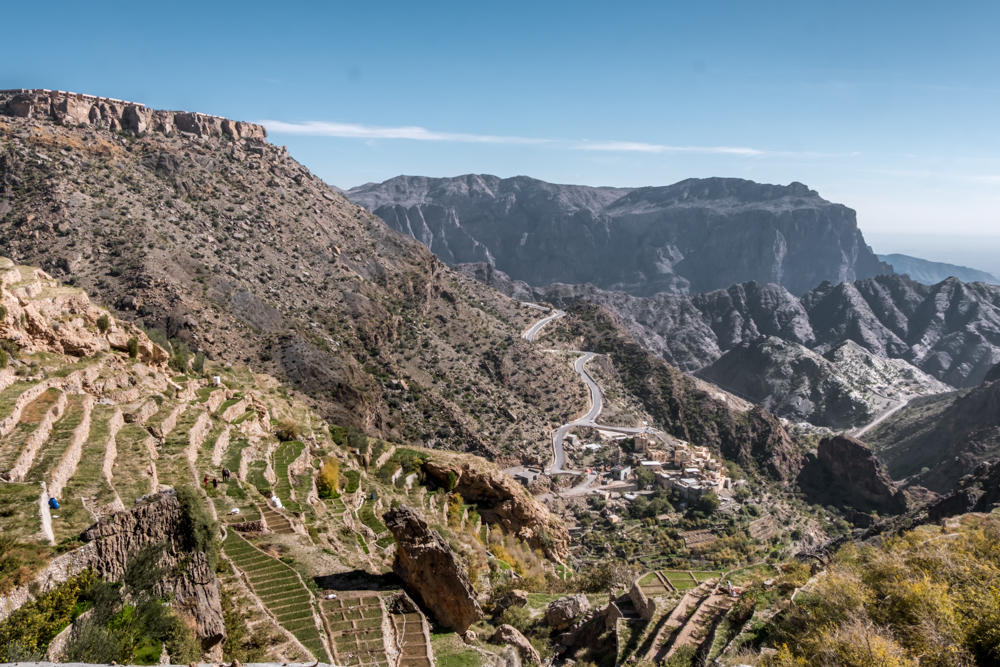 Oman Itinerary - Jabel Akhdar - 3 villages hike - Places to visit in Oman