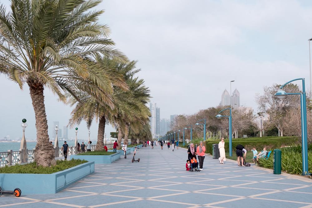 Abu Dhabi Holidays beach corniche