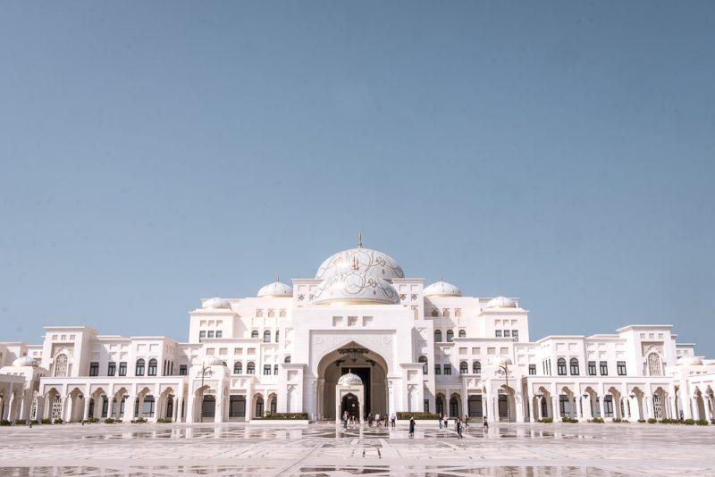Abu Dhabi holidays Qasr Al Watan
