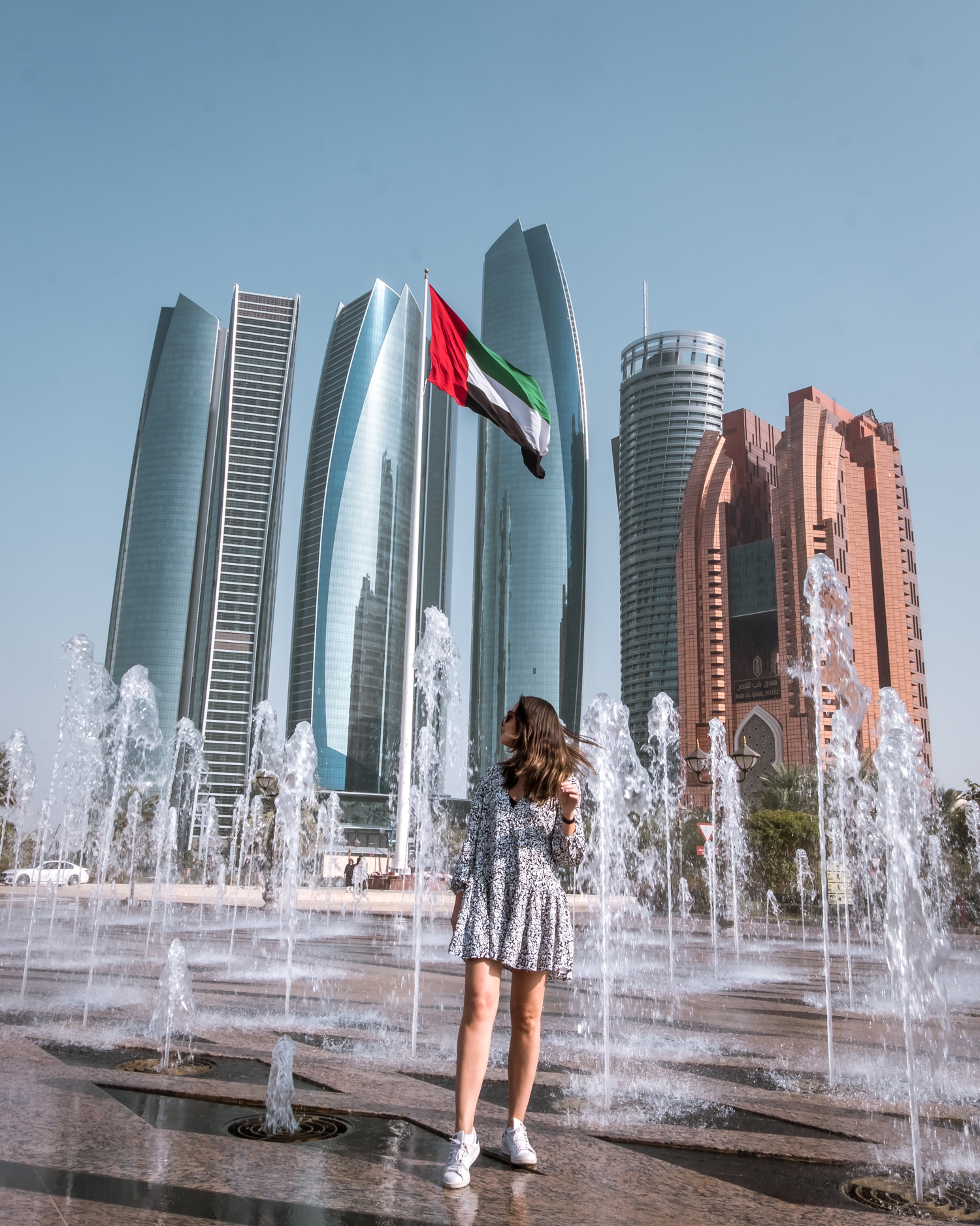 Abu Dhabi tourism Etihad Towers